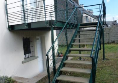 Escaliers exterieur 6 - Escaliers & Mains-courantes