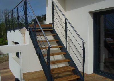 Escaliers exterieur BL Ferronnerie ETS Chemin 1 - Escaliers & Mains-courantes