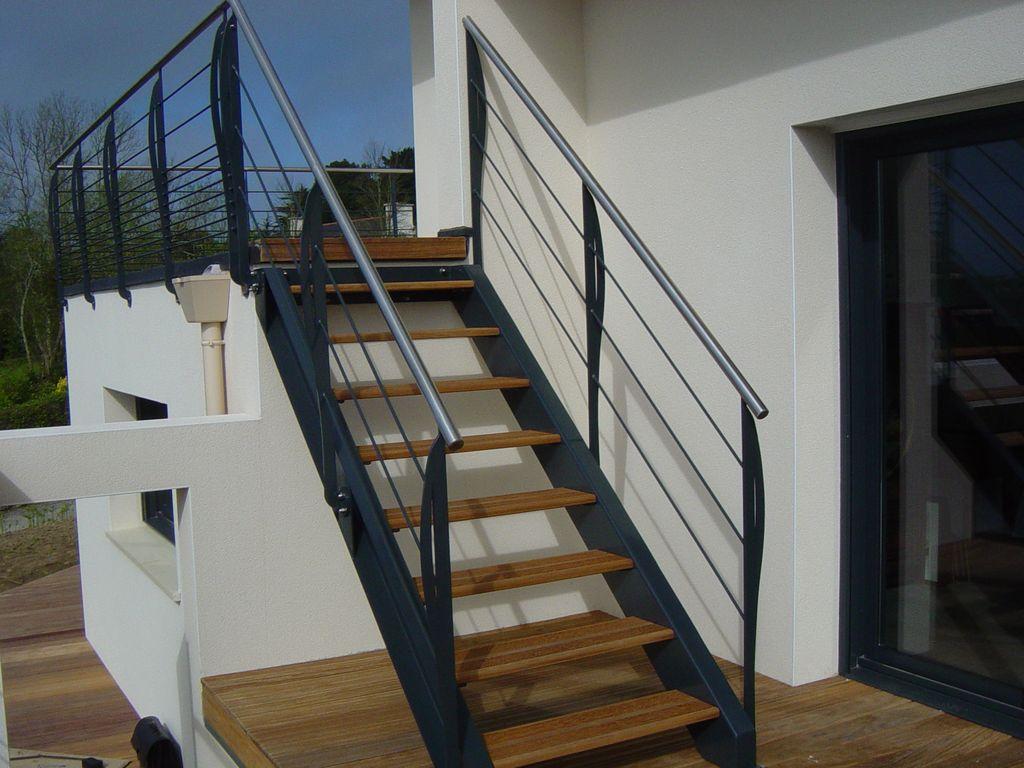 Escaliers exterieur BL Ferronnerie ETS Chemin - Accueil